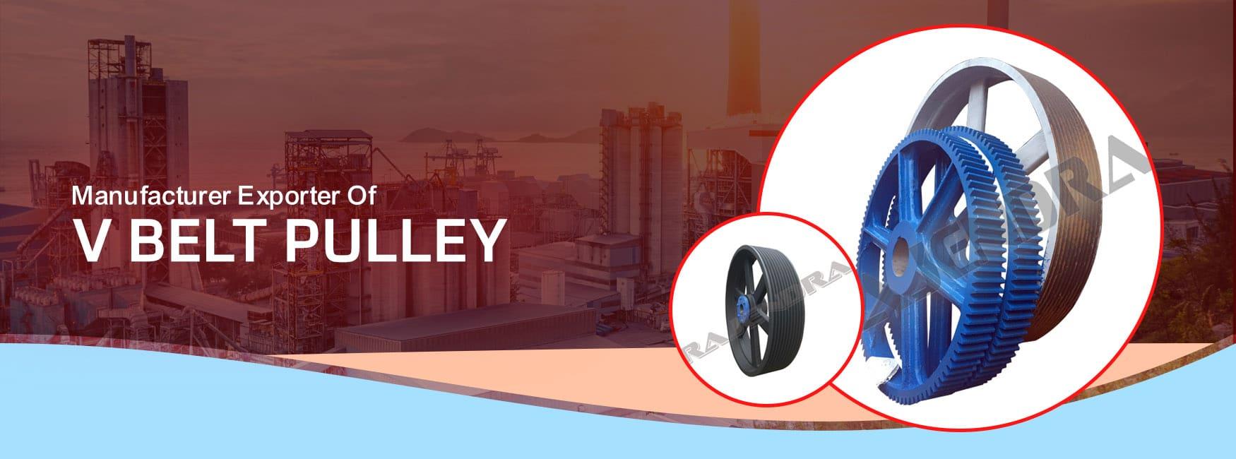 V Belt Pulley Manufacturers